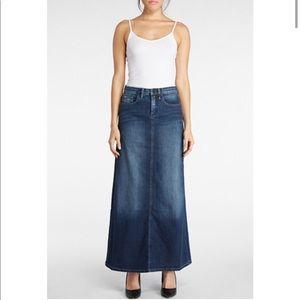 Blank NYC Jean Maxi Skirt Denim